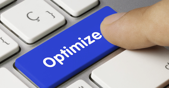 Optimize button