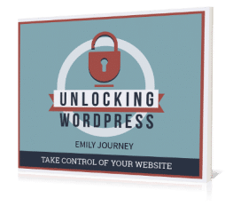 eBook Cover Unlocking WordPress