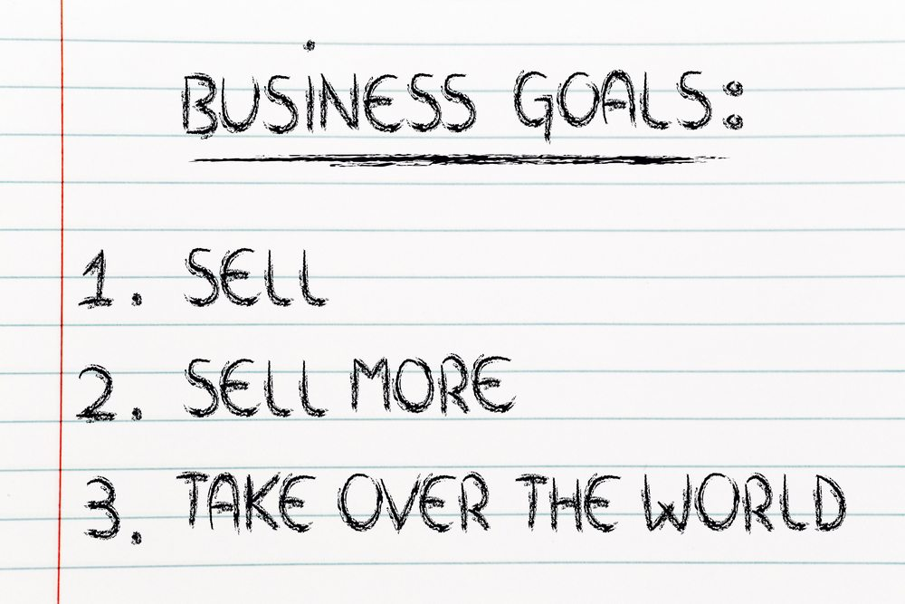 Business goals for selling on WordPress