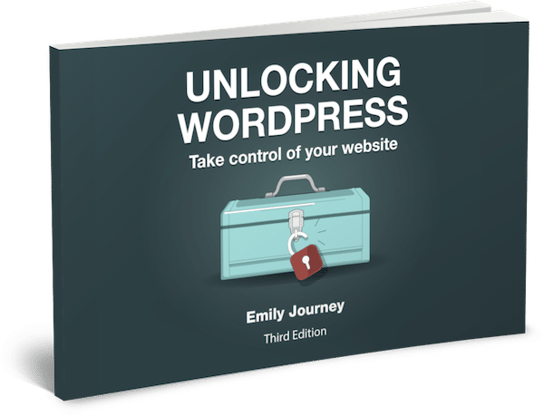 Unlocking WordPress bookcover