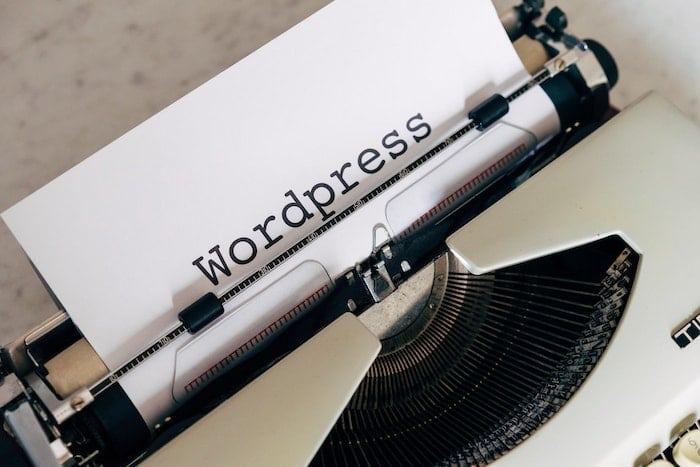 WordPress and typewriter